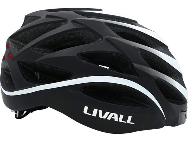 LIVALL BH62 - Casco de bicicleta - incl. BR80 blanco/negro